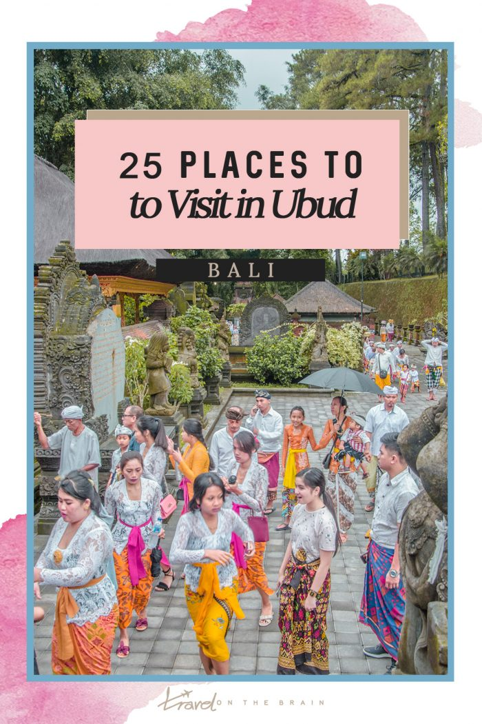 25 Top Places to Visit in Ubud – What to See & Do in Ubud