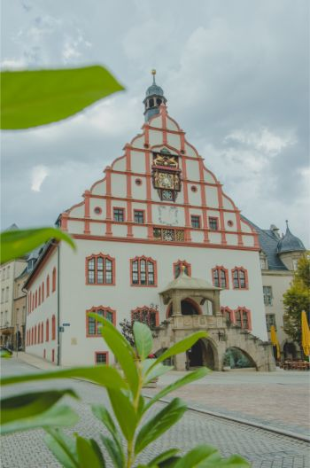town hall in Plauen, Germany