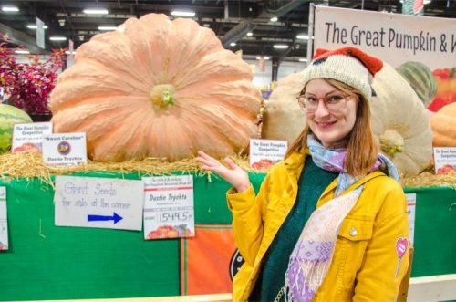 biggest pumpkin so far at NC State Fair 2019