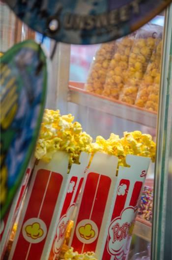 popcorn at the 2019 North Carolina State Fair