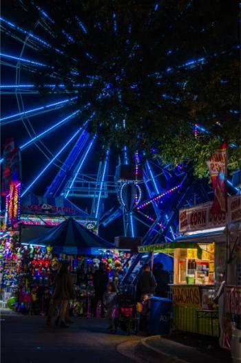 ferris wheel at the 2019 North Carolina State Fair