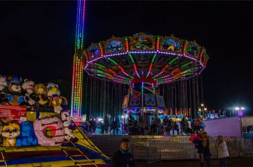 merry-go-round at North Carolina State Fair 2019