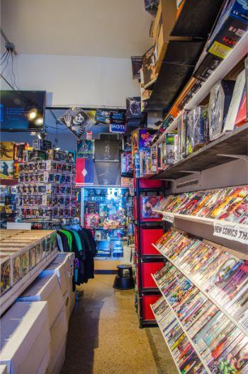 Hypno-Tronic Comics on Staten Island, NY
