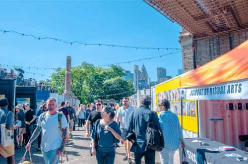 Smorgasburg and Photography exhibition at DUMBO