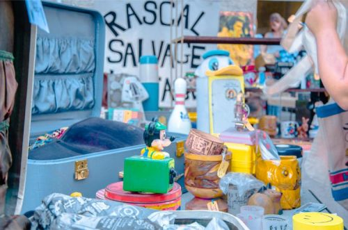 Brooklyn Flea Dumbo - vintage toys