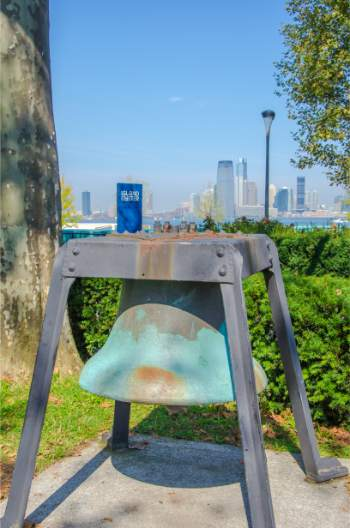historic bell on Governors Island NY