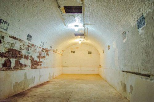 Munition storage at Fort Jay, Gov Island NY