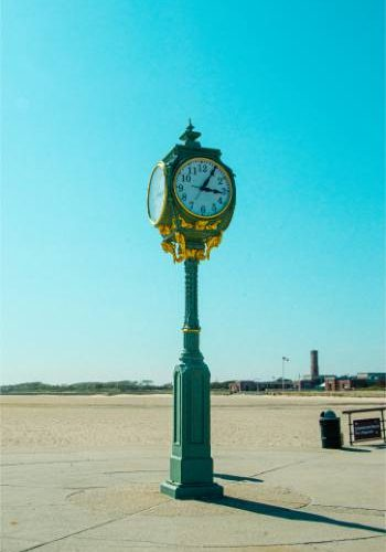 Jacob Riis clock tower, Rockaway Beach, NY