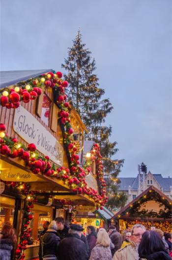 Erfurt's Christmas stalls