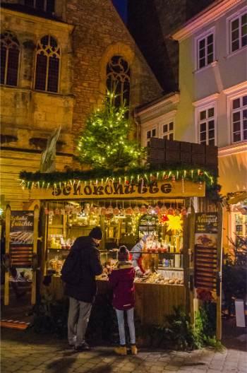 chocolates at an Erfurt Christmas market