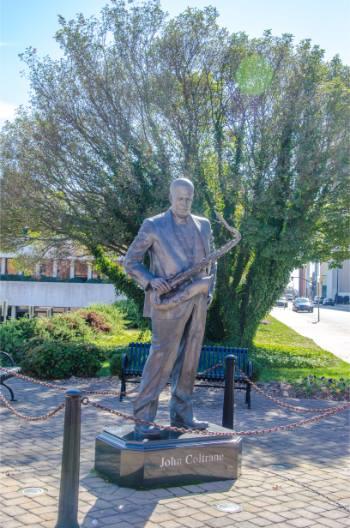 John Coltrane statue in High Point NC
