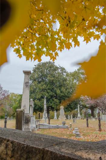 Old English Cemetery in Salisbury NC