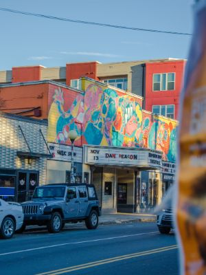 colourful NoDa in Charlotte NC