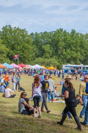 Fall Festival in North Carolina