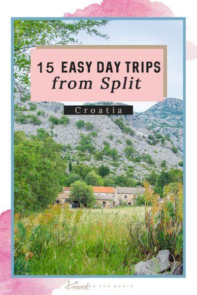 15 Easy Day Trips from Split Croatia