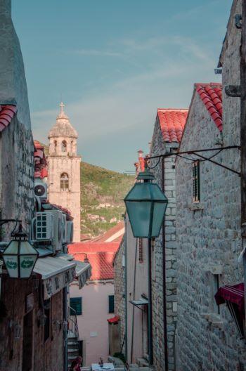 Dubrovnik's old streets