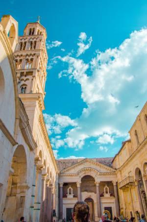Church of St Dominus in Split, Croatia