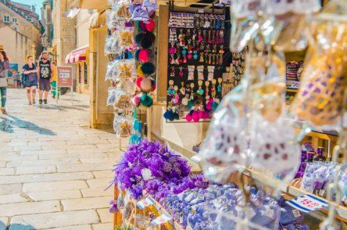 lavender gifts at Split market