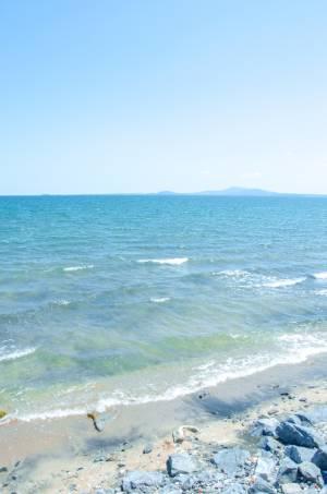 Bulgaria's Black Sea on a sunny day