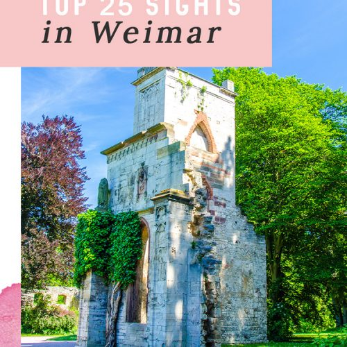 Pin: 25 Ideas for What to See in Weimar, Germany